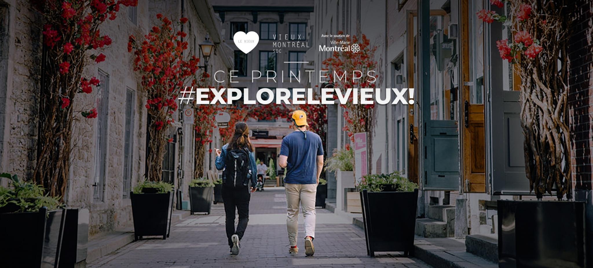 Explore le Vieux (Printemps 2021)